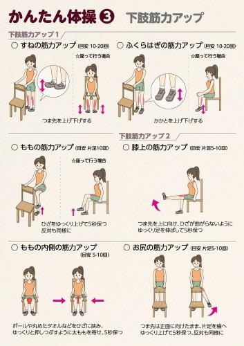 下肢筋力体操